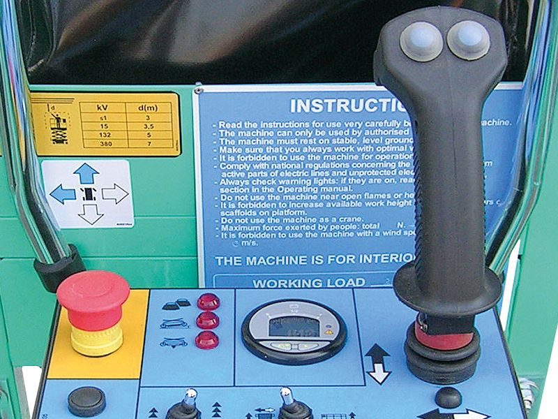 Saksilava joystick